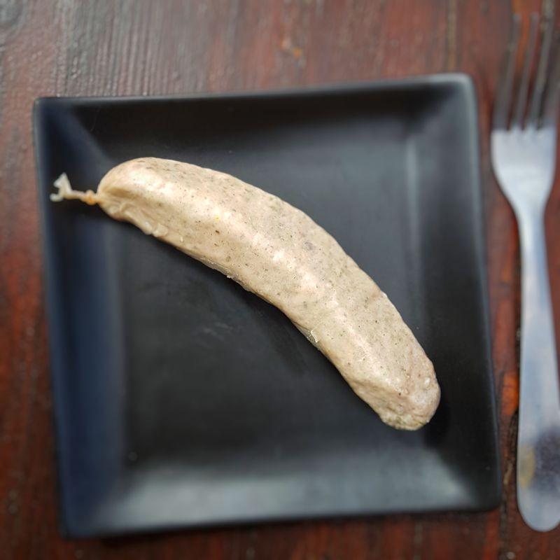 Bratwurst frais 100g