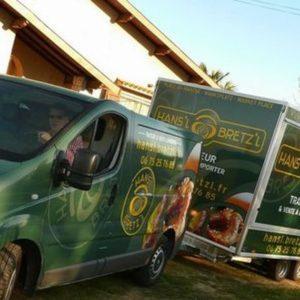 Première remorque Food Truck de Hans'l & Bretz'l
