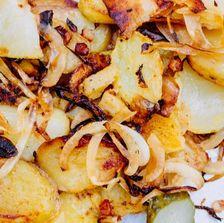 Bratkartoffeln au Biergarten