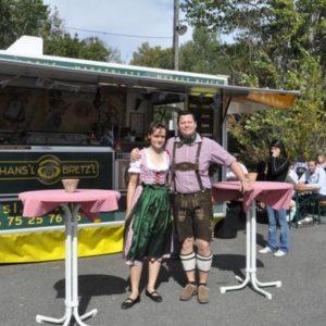 Fabian et Elodie Brillaud, fondateurs Hans'l & Bretz'l