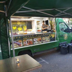 Cocktai dinatoire avec le Food Truck Hans'l & Bretz'l à Toulouse