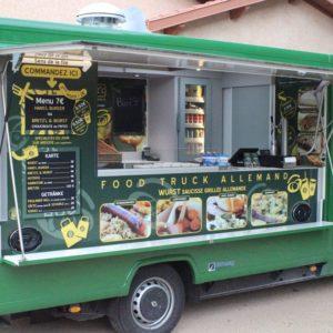 Devant du Food Truck Hans'l & Bretz'l