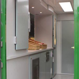 Intérieur du Food Truck