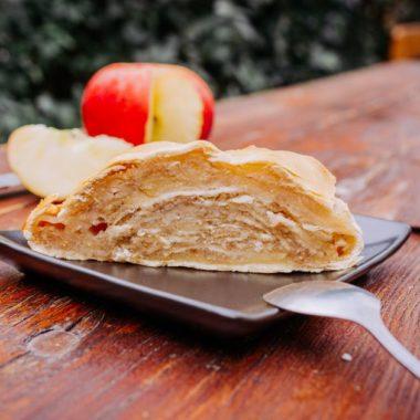 Strudel au pommes Biergarten