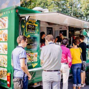 Altran et Centreda ingénieurs vont au Food Truck à Blagnac