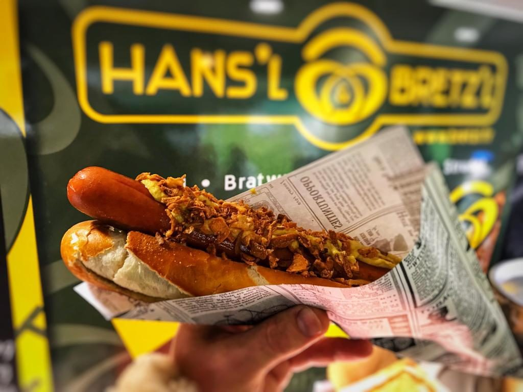 Hot Dog Bavarois au Biergarten et Food Truck allemand