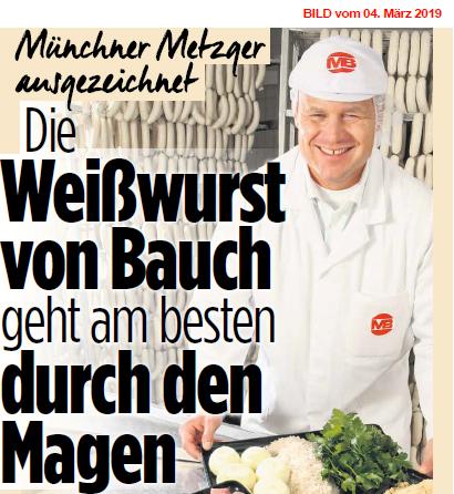 Weisswurst Recette