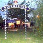 Repas de voisins au Biergarten 2009