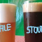 Pale Ale ou Stout Hex avant BBT