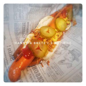 Hot Dog bavarois