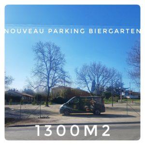 Nouveau Parking de Biergarten