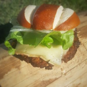 Raclette Burger