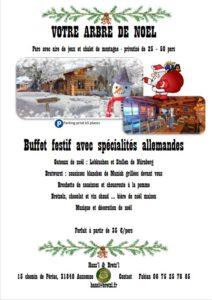 Repas de fin d'année au BChalet Hansl et Bretzl Aussonne